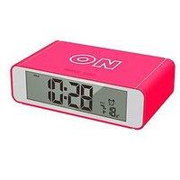 Product photograph showing Precision Flip Alarm Clock