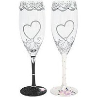 Product photograph showing Lolita Mr Amp Mrs Toasting Glasses
