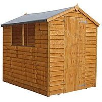 Product photograph showing Mercia 7 X 5ft Overlap Apex Garden Shed