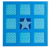 Product photograph showing Premier Housewares Star Photo Frame - 8 Sections