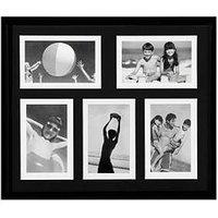 Product photograph showing Premier Housewares Multi Picture Photo Frame - 5 Photo 4x6