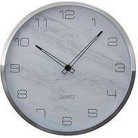 Product photograph showing Premier Housewares Elko Faux Marble Wall Clock