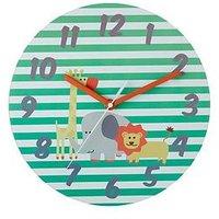 Product photograph showing Premier Housewares Safari Wall Clock