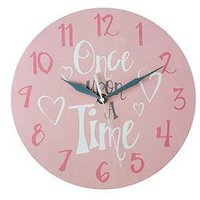 Product photograph showing Premier Housewares Once Upon A Time Wall Clock