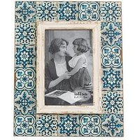 Product photograph showing Sass Belle Mediterranean Mosaic Photo Frame