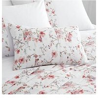 Product photograph showing Catherine Lansfield Catherine Lansfield Jasmine Floral Cushion