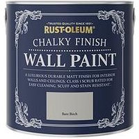 Product photograph showing Rust-oleum Rust-oleum Chalky Wall Paint Bare Birch 2 5l