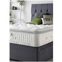 Product photograph showing Aspire Alpaca Silk 3000 Pocket Pillowtop Mattress - Medium Firm
