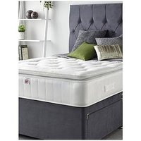 Product photograph showing Aspire Natural Cashmere Pillowtop Mattress - Medium