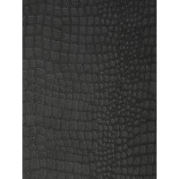 Product photograph showing Superfresco Easy Easy Crocodile Black Wallpaper