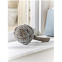 Product photograph showing Cox Cox Faux Grey Artichoke Ornament