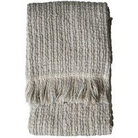 Product photograph showing Gallery Tonal Woven Throw - Grey