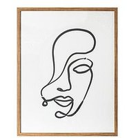 Product photograph showing Gallery Contour Expressions Line Drawing Framed Print