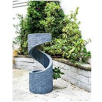 Product photograph showing Outdoor Spiral Water Feature Cement