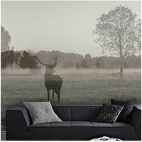 Product photograph showing Art For The Home Stag In The Woods Wall Mural