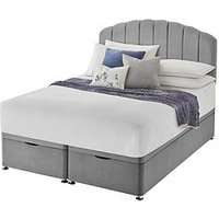 Product photograph showing Silentnight Base Only Ottoman Storage Bed Headboard Not Included