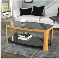 Product photograph showing Avf Affinity Coffee Table - Oak Black