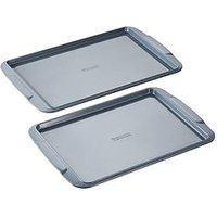 Product photograph showing Tower Cerasure 2 Piece Baking Tray
