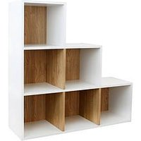 Product photograph showing Lloyd Pascal Cube 6 Stepped Storage Unit