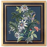 Product photograph showing Art For The Home Adilah Tropical Framed Wall Art