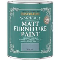 Product photograph showing Rust-oleum Rust-oleum Matt Furniture Paint Pacific State 750ml