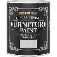 Product photograph showing Rust-oleum Rust-oleum Gloss Furniture Paint Bare Birch 750ml