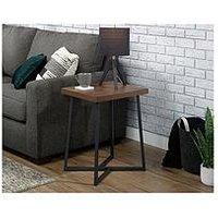 Product photograph showing Teknik Office Canyon Lane Lamp Table
