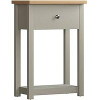 Product photograph showing Vida Designs Arlington 1 Drawer Console Table