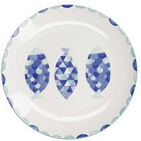 Product photograph showing Maxwell Williams Maxwell Williams Reef Fish Dinner Plate Set Of 4