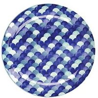 Product photograph showing Maxwell Williams Maxwell Williams Reef Scales Dinner Plate Set Of 4