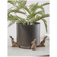 Product photograph showing Cox Cox Hares Plant Pot Stand