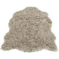 Product photograph showing Faux Fur Rug - Single