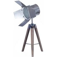 Product photograph showing Pacific Lifestyle Hereford Film Tripod Table Lamp