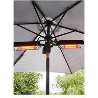 Product photograph showing 2x800w Radiant Parasol Heater