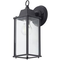 Product photograph showing Ceres Bevelled Glass Outdoor Wall Lantern Light