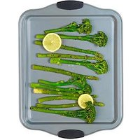 Product photograph showing Russell Hobbs Pearlised Baking Tray
