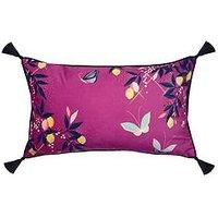Product photograph showing Sara Miller Butterflies Cushion