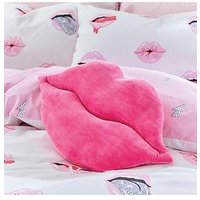 Product photograph showing Sassy B Read My Lips Cushion