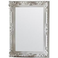 Product photograph showing Gallery Altori Rectangular Wall Mirror In White