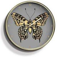 Product photograph showing Jones Clocks Jones Clocks Acadamy Butterfly Wall Clock