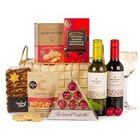 Product photograph showing Merry Christmas Basket