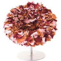Poltrona girevole Bouquet di Moroso - Rosa - Tessuto