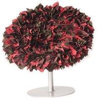 Poltrona girevole Bouquet di Moroso - Rosso - Tessuto