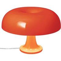 Lampada da tavolo Nessino di Artemide - Arancione opaco - Materiale plastico