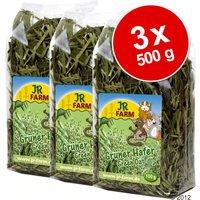 Lot JR Farm Avoine verte pour rongeur - 3 x 500 g