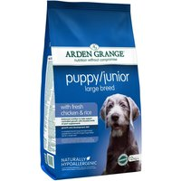 Arden Grange Large Breed Puppy/Junior - Chicken & Rice - 12kg
