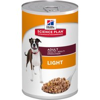 Hills Science Plan Canine - Adult Light - 6 x 370g