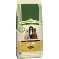 James Wellbeloved Dry Dog Food Economy Packs - Grain-Free - Lamb & Vegetable 2 x 10kg