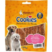 Cookies Delicatessen Chicken and Rice Sticks - Saver Pack: 3 x 200g