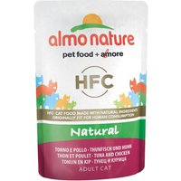 Almo Nature Classic Pouches 6 x 55g - Chicken Fillet